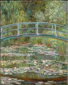 Bridge over a Pond of Water Lilies, Claude Monet (French, Paris 1840–1926 Giverny) © The Metropolitan Museum of Art